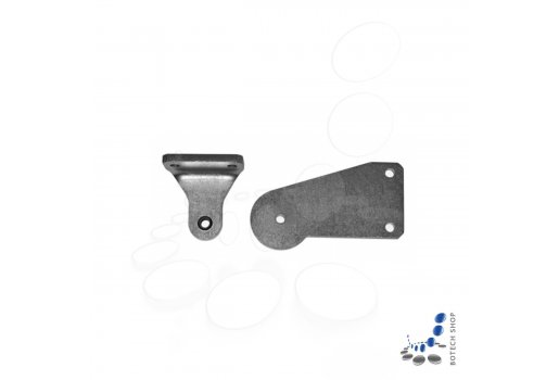 Hörmann rising gate hinge fitting set for one gate leaf