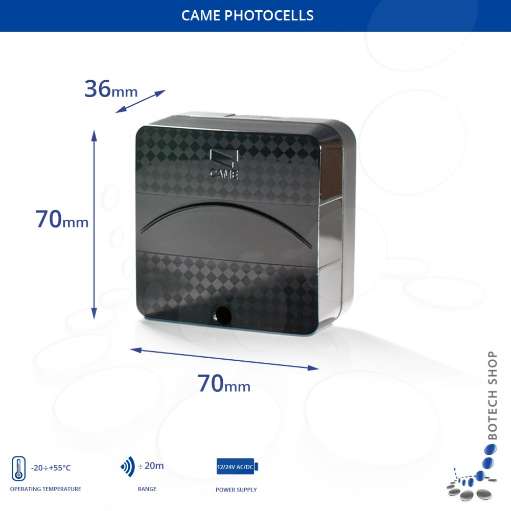 Photocells Came Delta E Surface Mounted Botech Shop