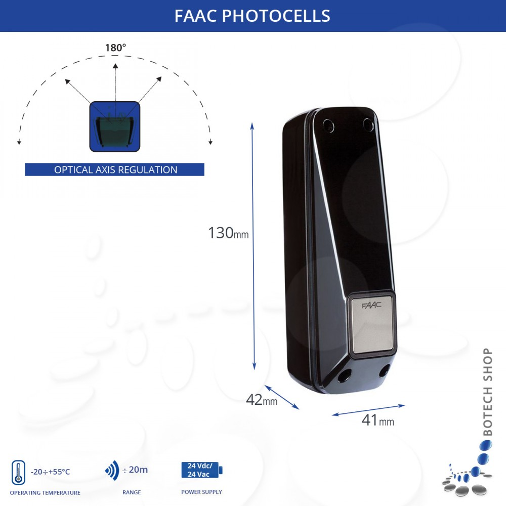 photocells faac xp 20 d Photocell Installation at Faac Photocell Wiring Diagram